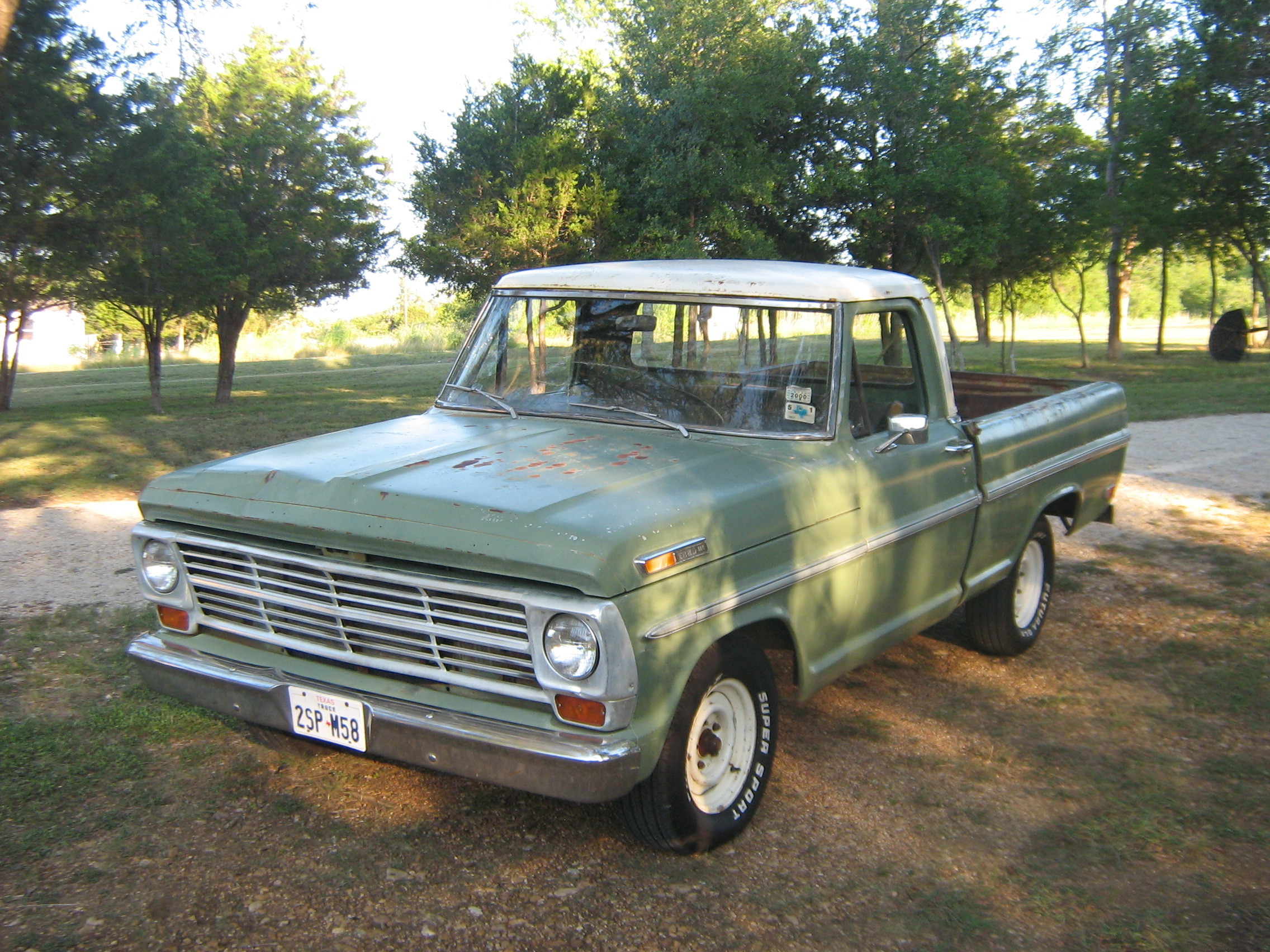 69 ford custom cab FOR SALE