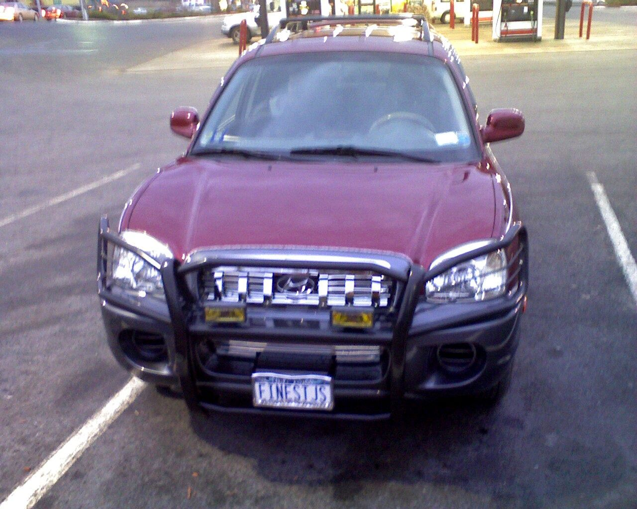 nypdnysfinest 2003 hyundai santa fe specs photos modification info at cardomain. Black Bedroom Furniture Sets. Home Design Ideas