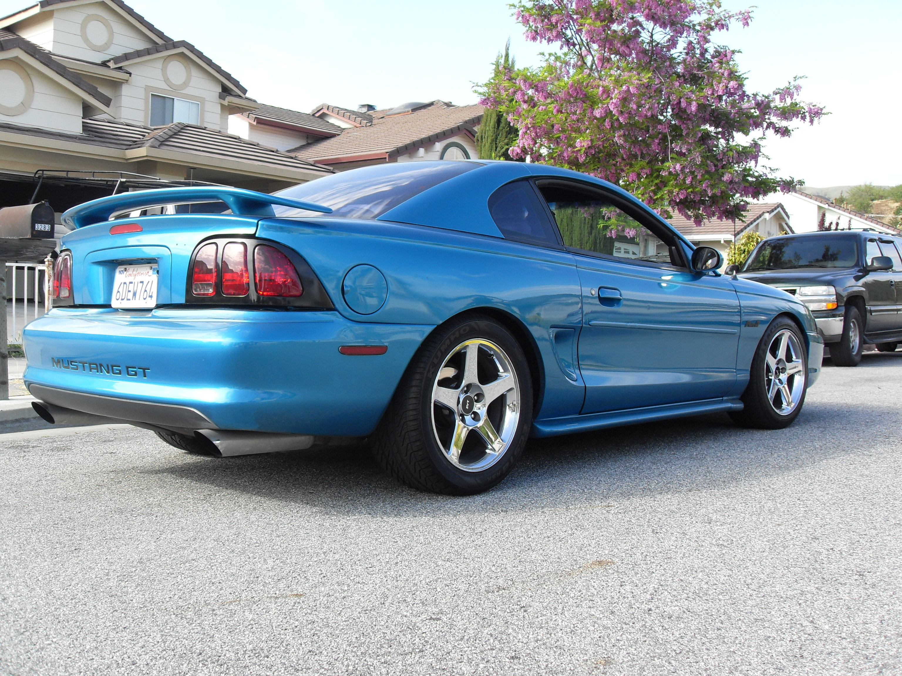 five 0 94gt 1994 ford mustang specs photos modification info at cardomain. Black Bedroom Furniture Sets. Home Design Ideas