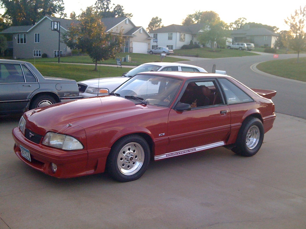 Ganrude 1987 Ford Mustang Specs Photos Modification Info