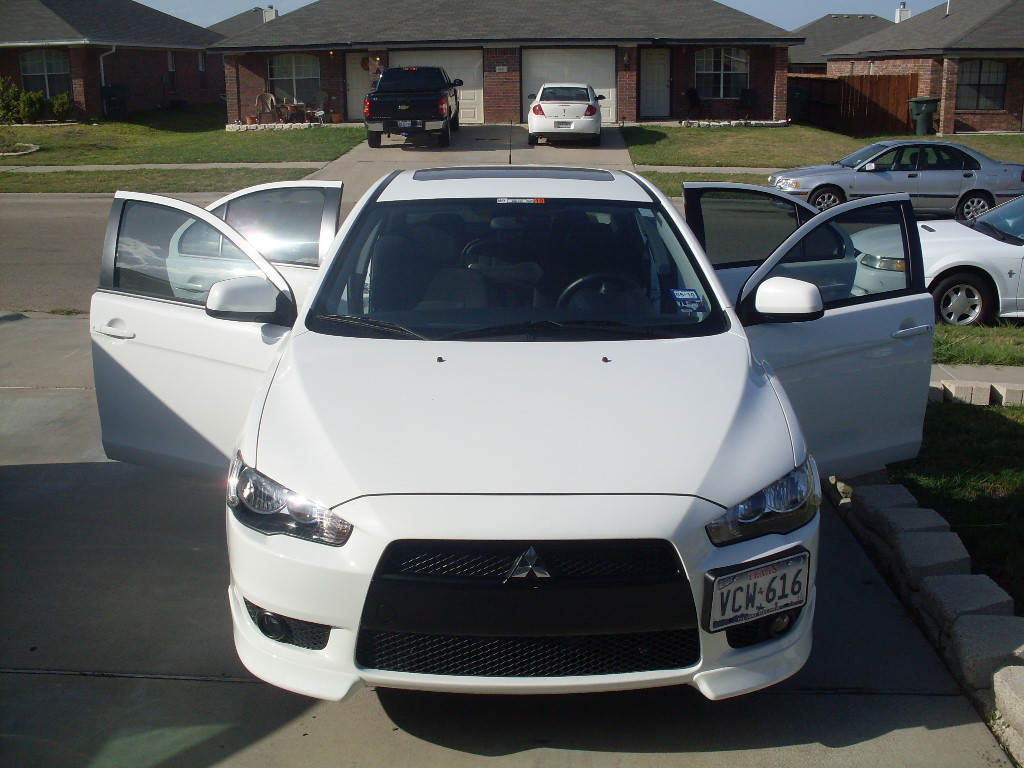 fuz1onkilla 39 s 2009 mitsubishi lancer in killeen tx. Black Bedroom Furniture Sets. Home Design Ideas