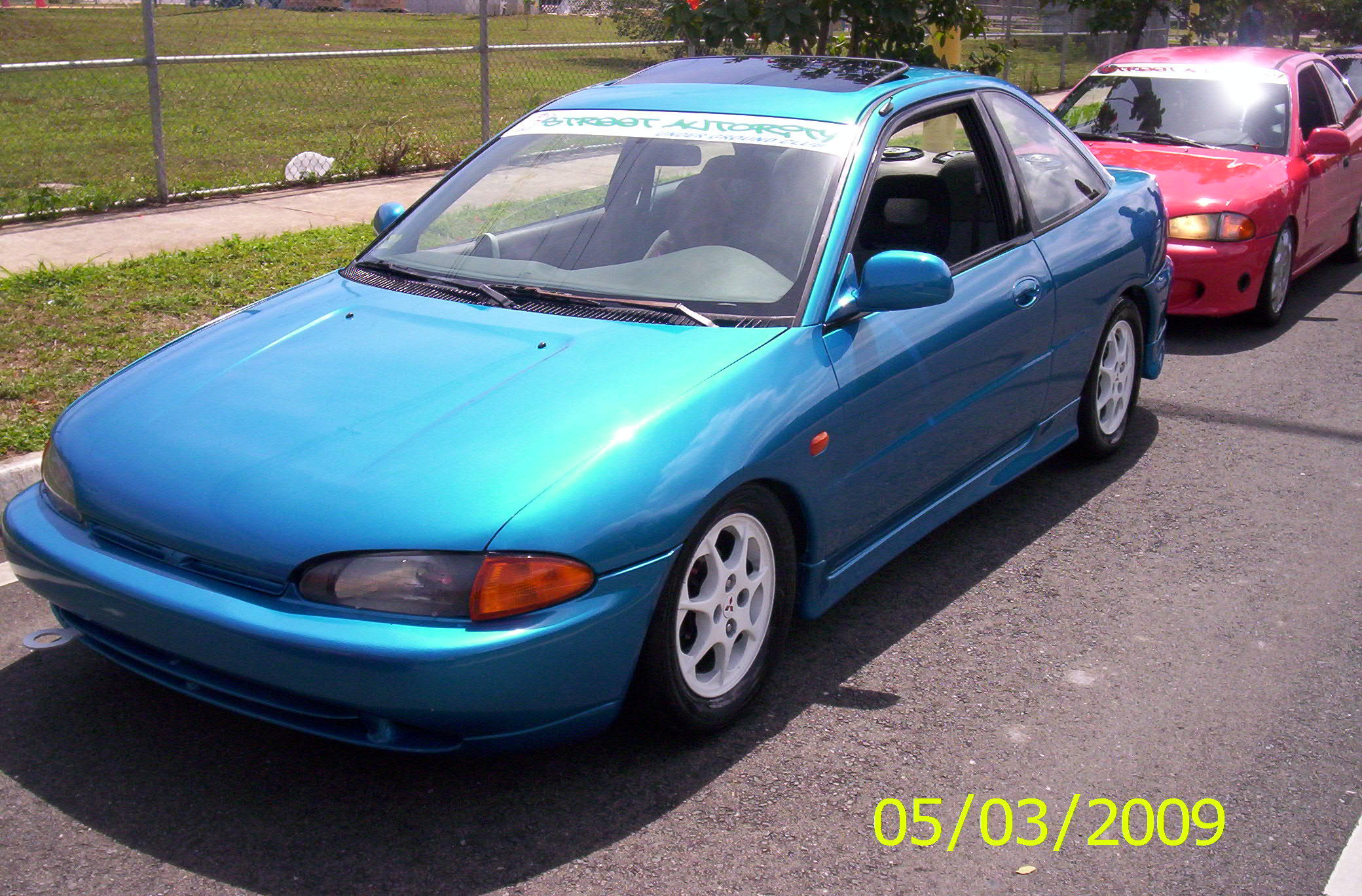 CHRISTIANMIRAGE 1995 Mitsubishi Mirage