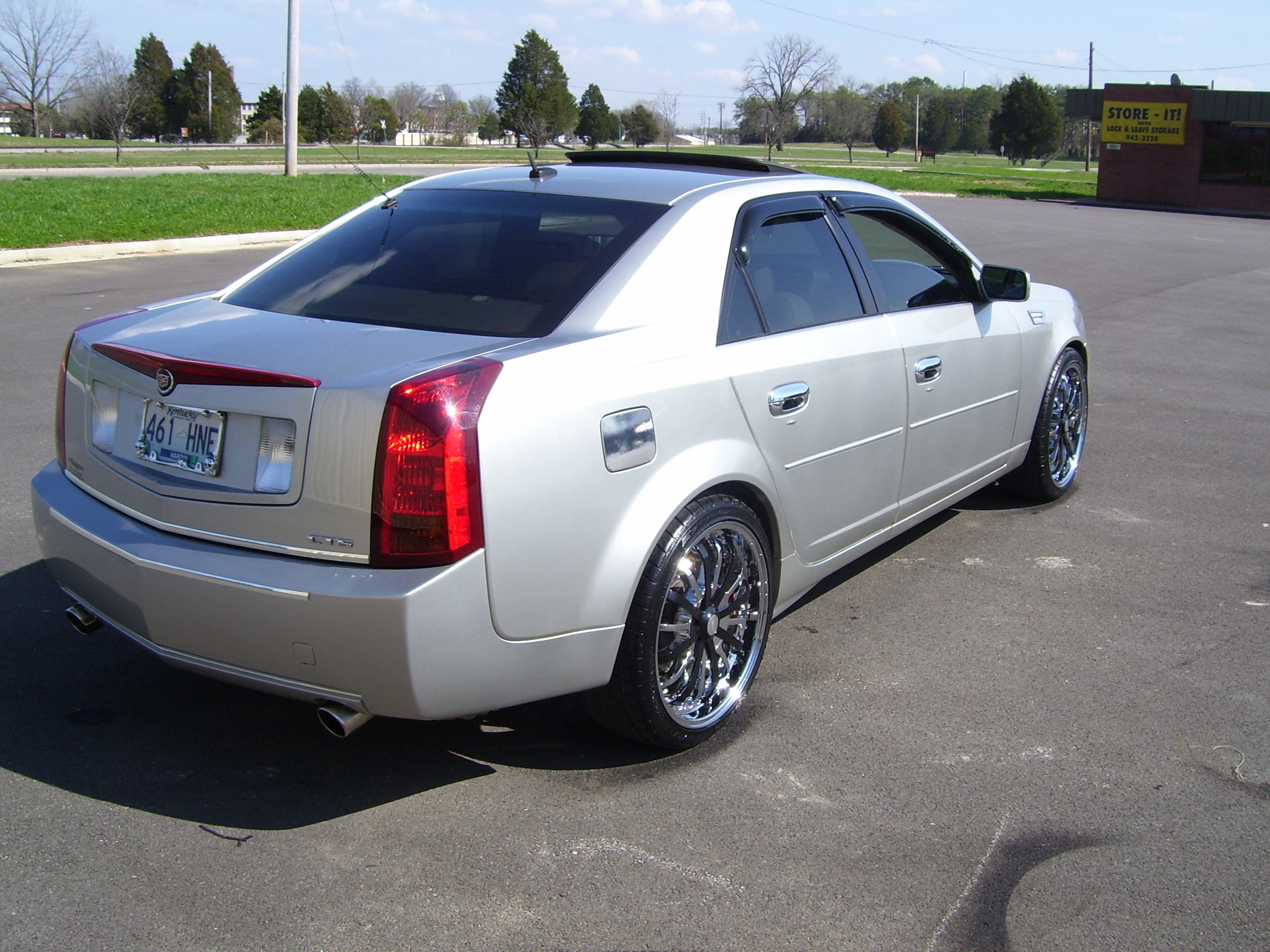 tezswagga 2005 cadillac cts specs photos modification. Black Bedroom Furniture Sets. Home Design Ideas