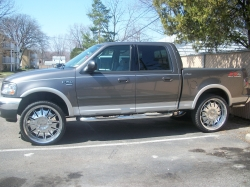 f-150_on_26ss 2003 Ford F150 SuperCrew Cab
