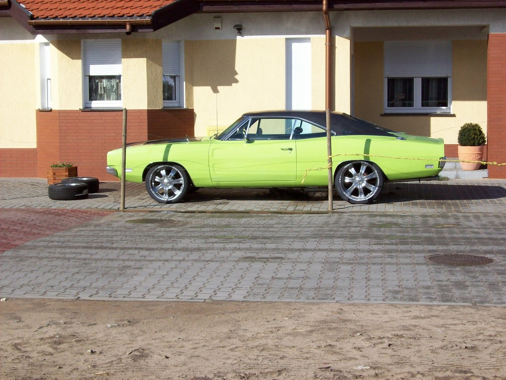 Araness Blog 1969 Dodge Charger With Blower Motor