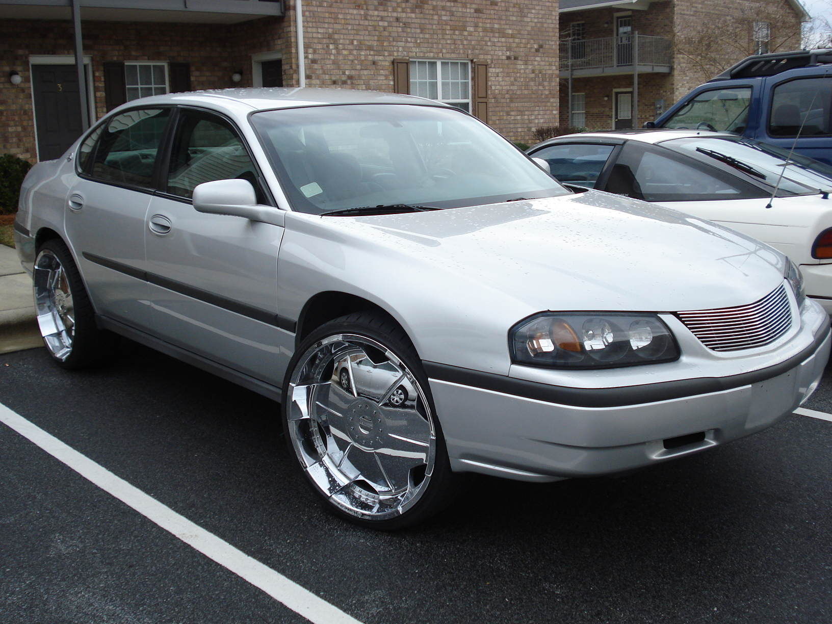 Pushin 24s 2001 Chevrolet Impala Specs Photos