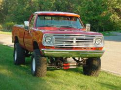 onebadmopar 1973 Dodge Power Wagon
