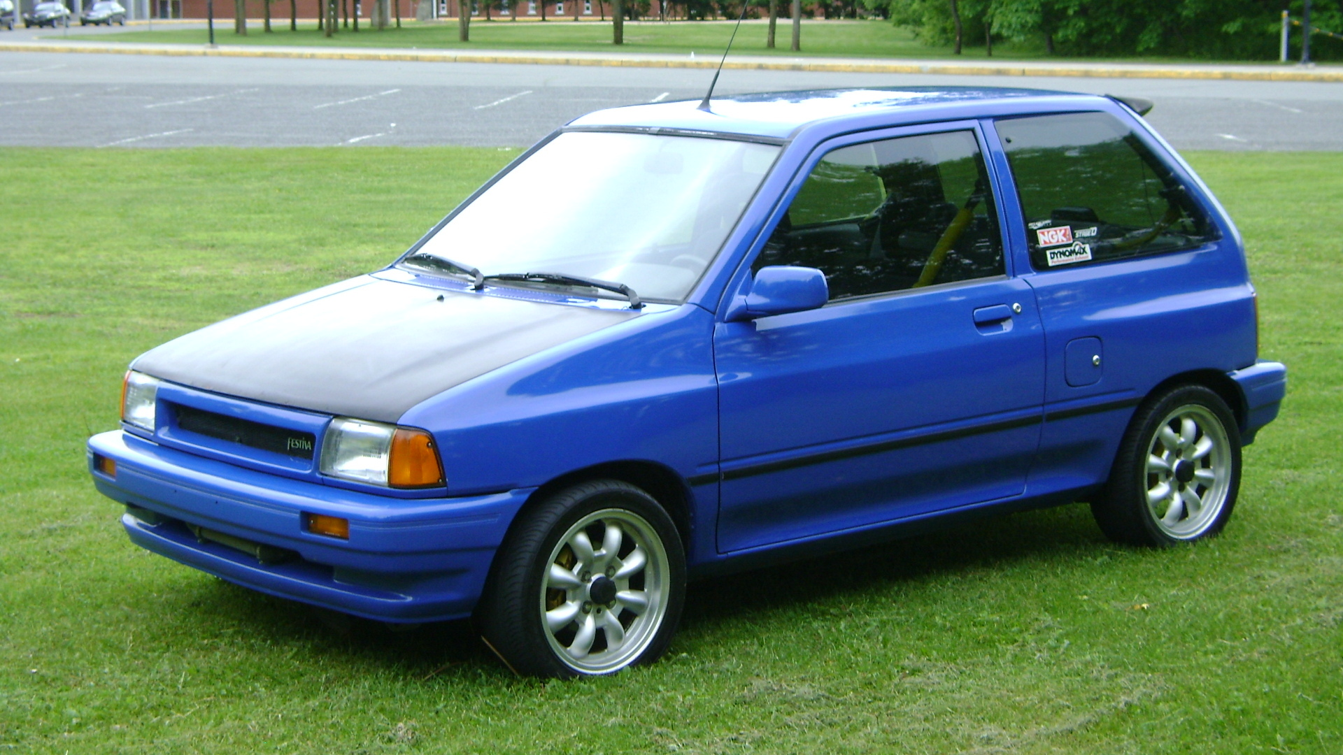 Bleuazur 1993 Ford Festiva Specs Photos Modification