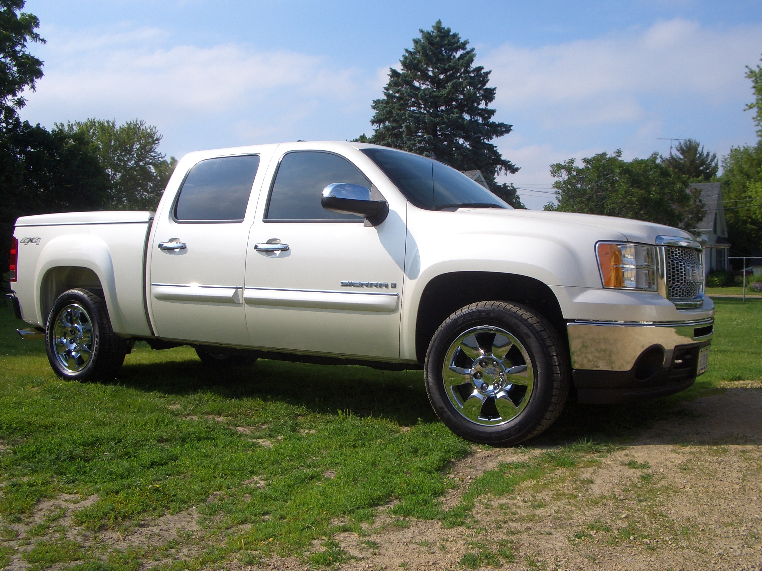 lasierra24 2009 gmc sierra 1500 crew cabslt specs photos. Black Bedroom Furniture Sets. Home Design Ideas