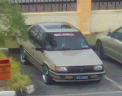 along1423s 1992 Proton Saga