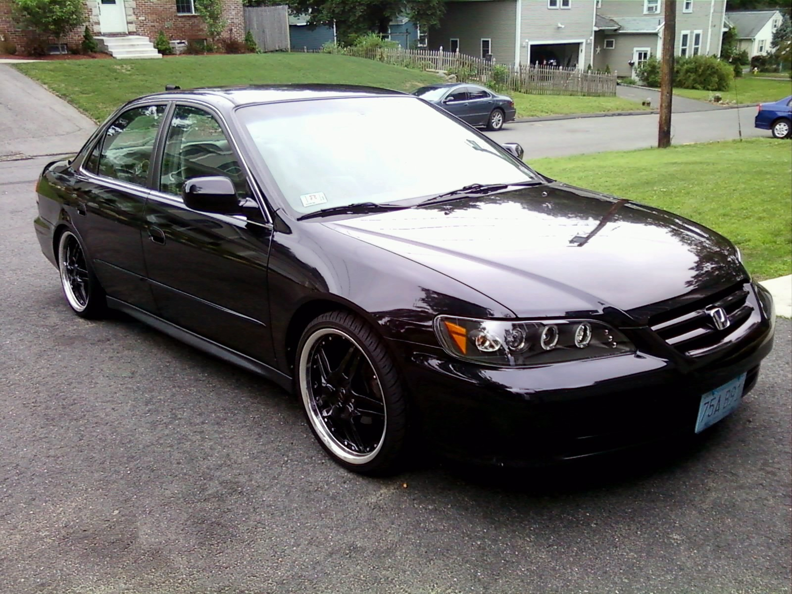Jdm Since 1988 2001 Honda Accord Specs Photos Modification Info At Cardomain