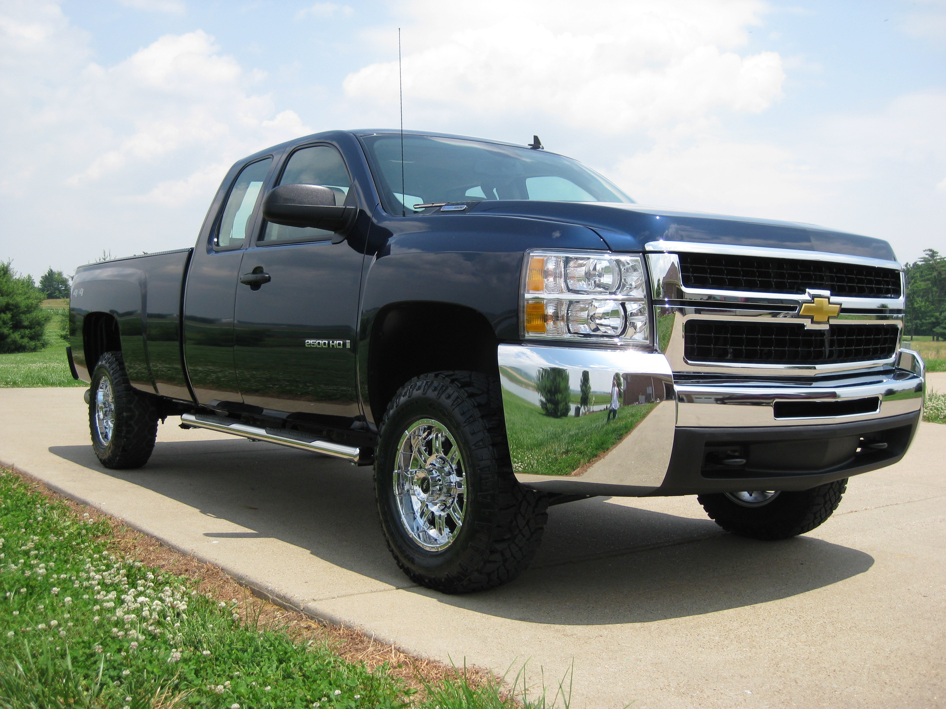 seventy six 2009 chevrolet silverado 2500 hd extended cabwork truck pickup 4d 8 ft specs photos. Black Bedroom Furniture Sets. Home Design Ideas