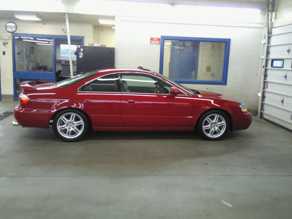 ACURACL_TYPES90 2003 Acura CL