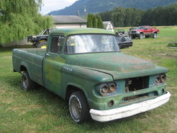 bigredranger12 1959 Dodge D150 Club Cab
