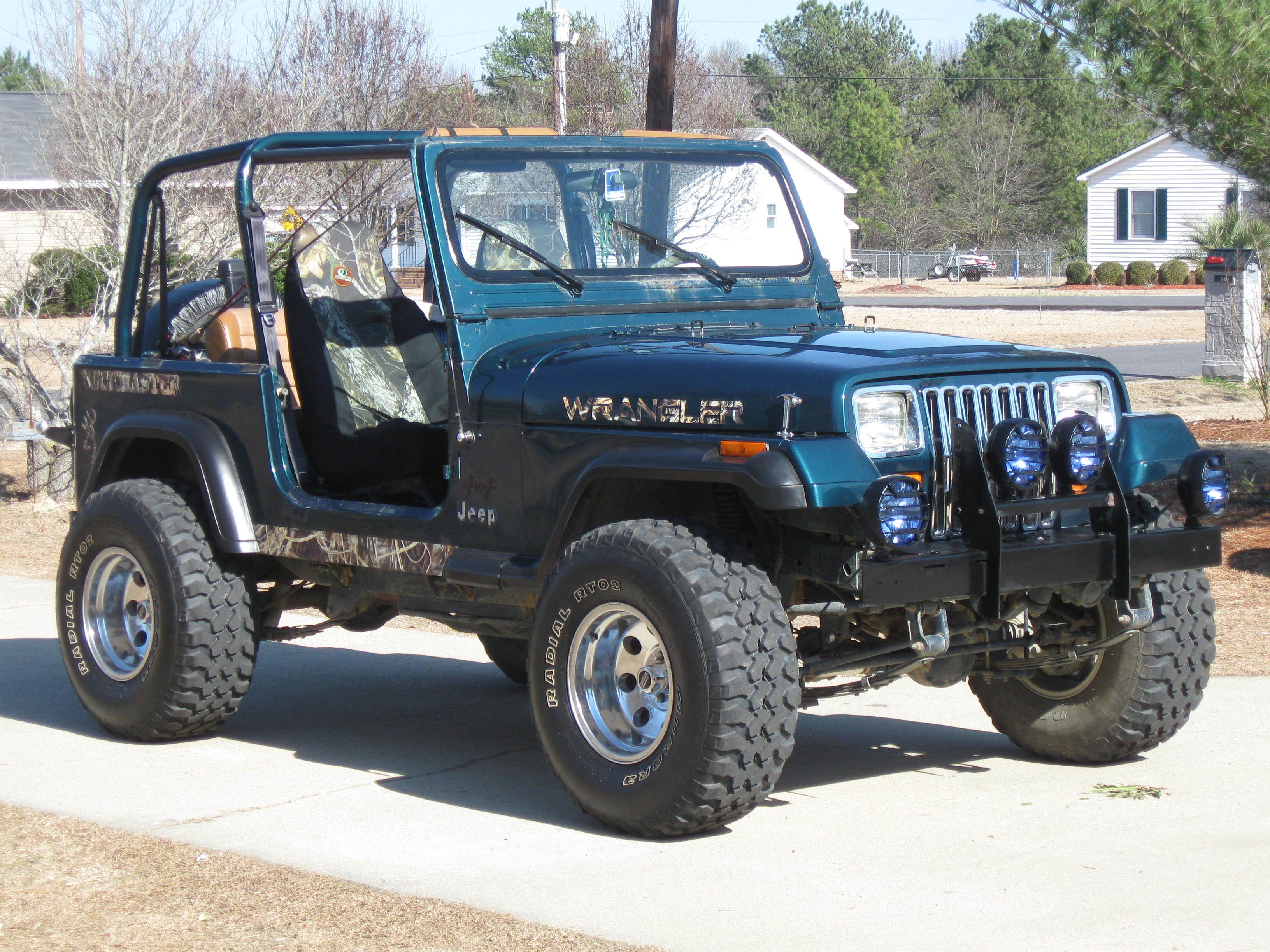 Meangreen11 1995 Jeep Wrangler Specs Photos Modification