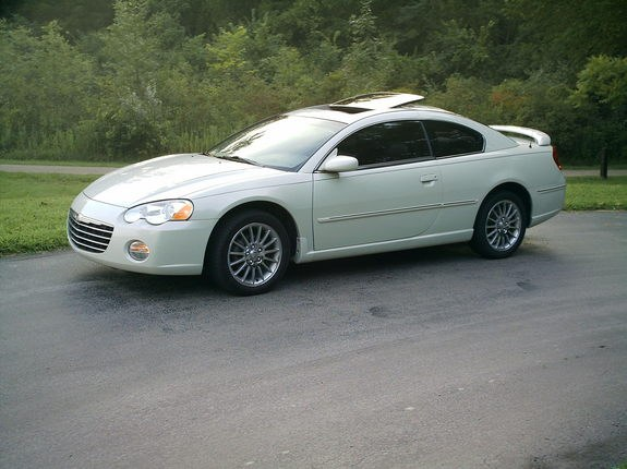 Large on White Chrysler Sebring