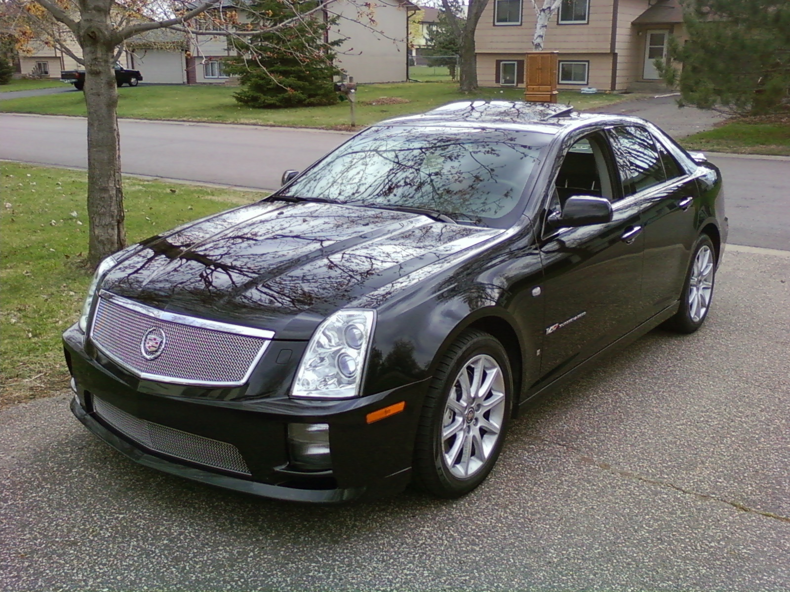 06sts v 2006 cadillac sts specs photos modification info at cardomain. Black Bedroom Furniture Sets. Home Design Ideas