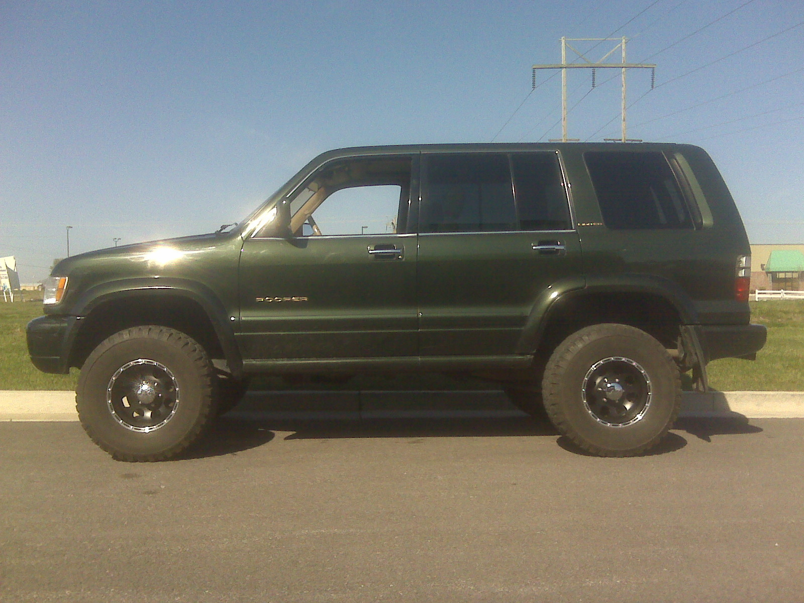 Degan4 2001 isuzu trooper
