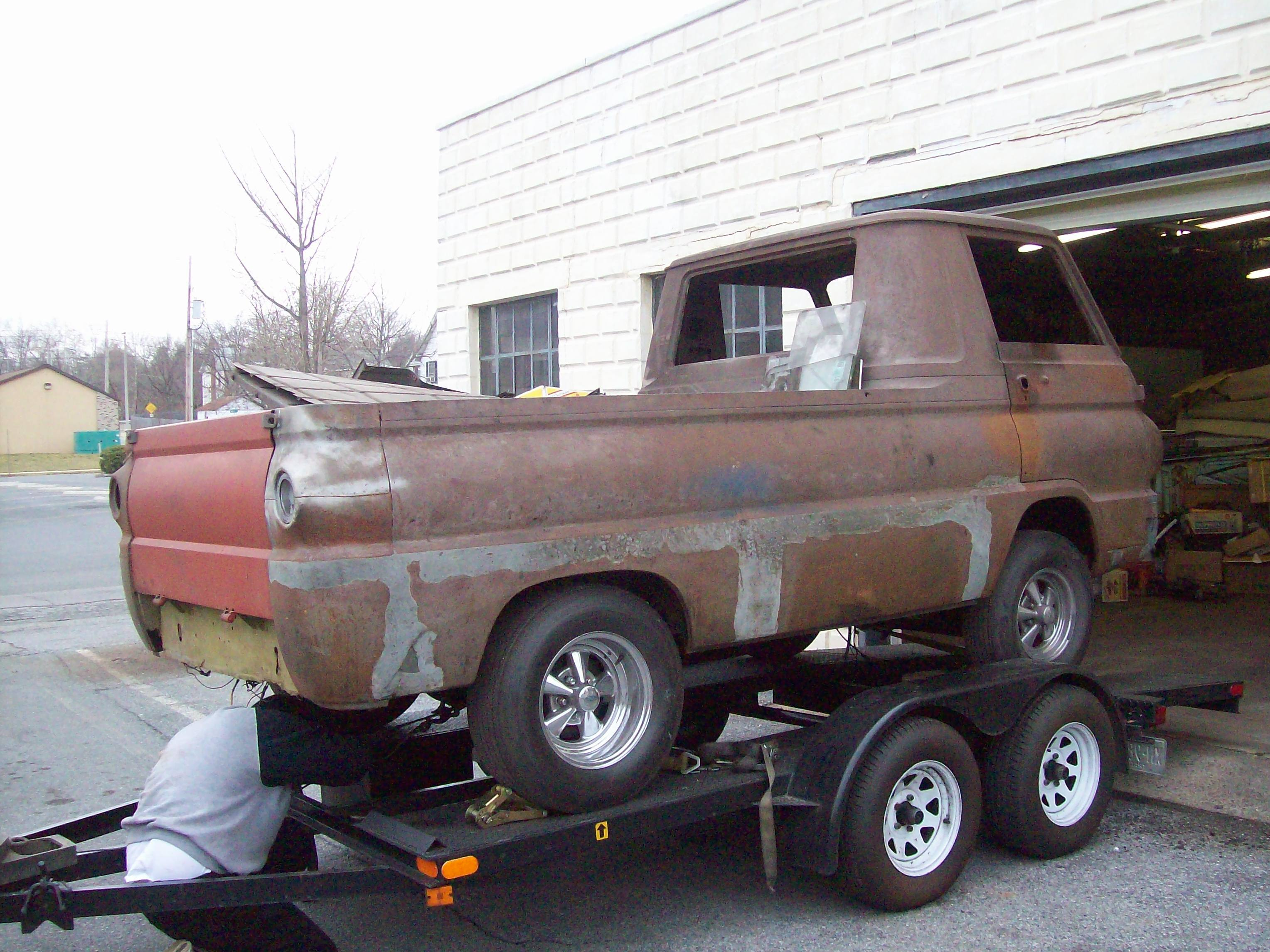 Another Hemishadow 1965 Dodge A-Series post... - 13246777