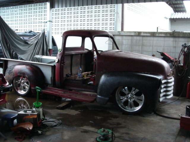 SpeedDProshop's 1953 Chevrolet 3100
