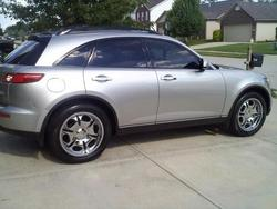SILVER_FXs 2005 Infiniti FX