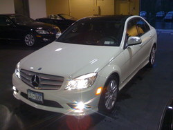 c300benzs550 2009 Mercedes-Benz C-Class