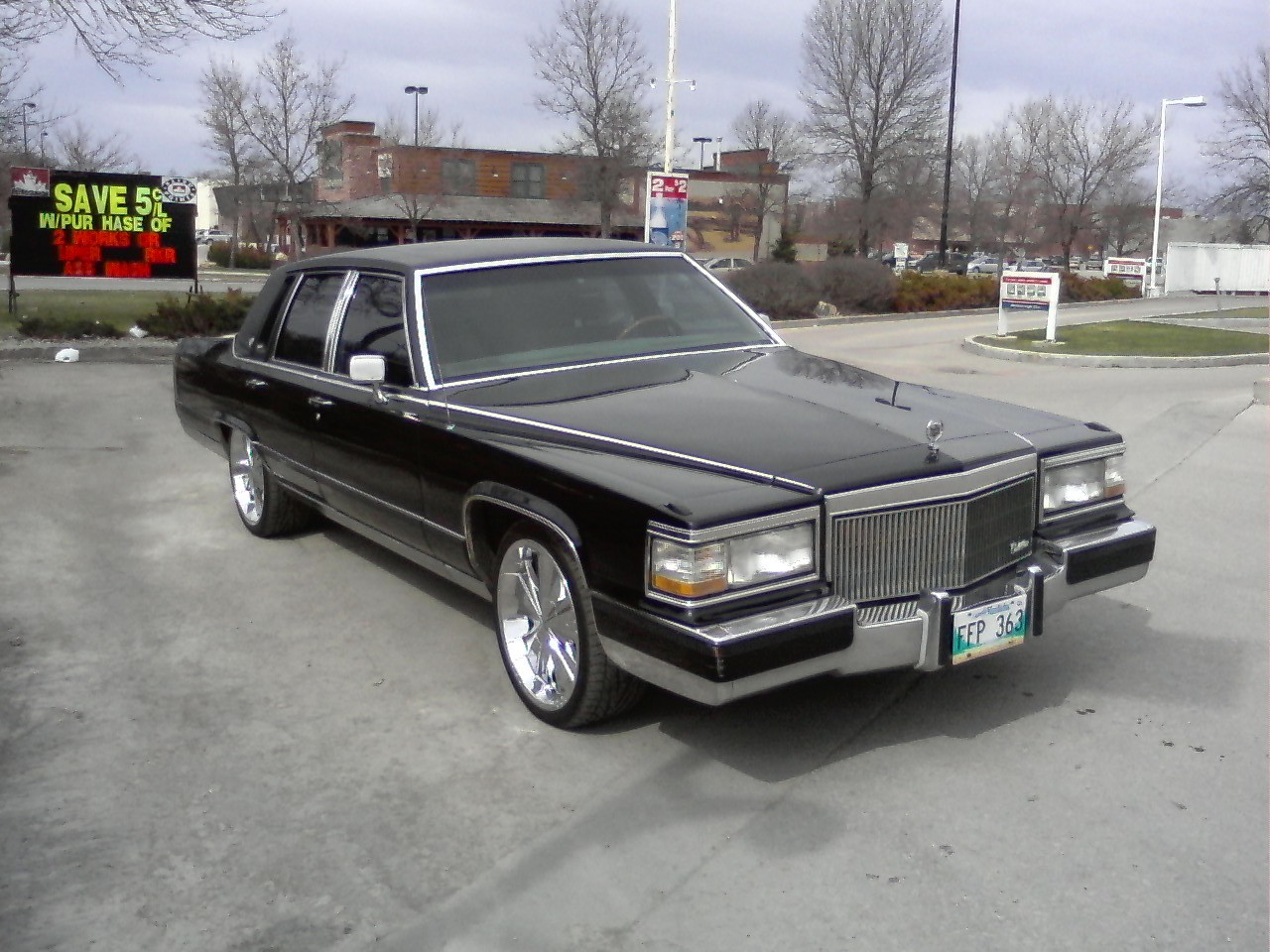 Another G-Money101 1990 Cadillac Brougham post... - 13471156