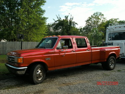 3351813 1988 Ford F350 Super Duty Crew Cab & Chassis