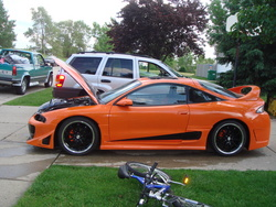 theCar11s 1997 Mitsubishi Eclipse