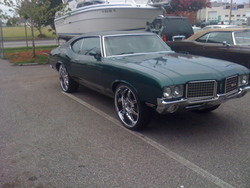 ymg43s 1972 Oldsmobile Cutlass