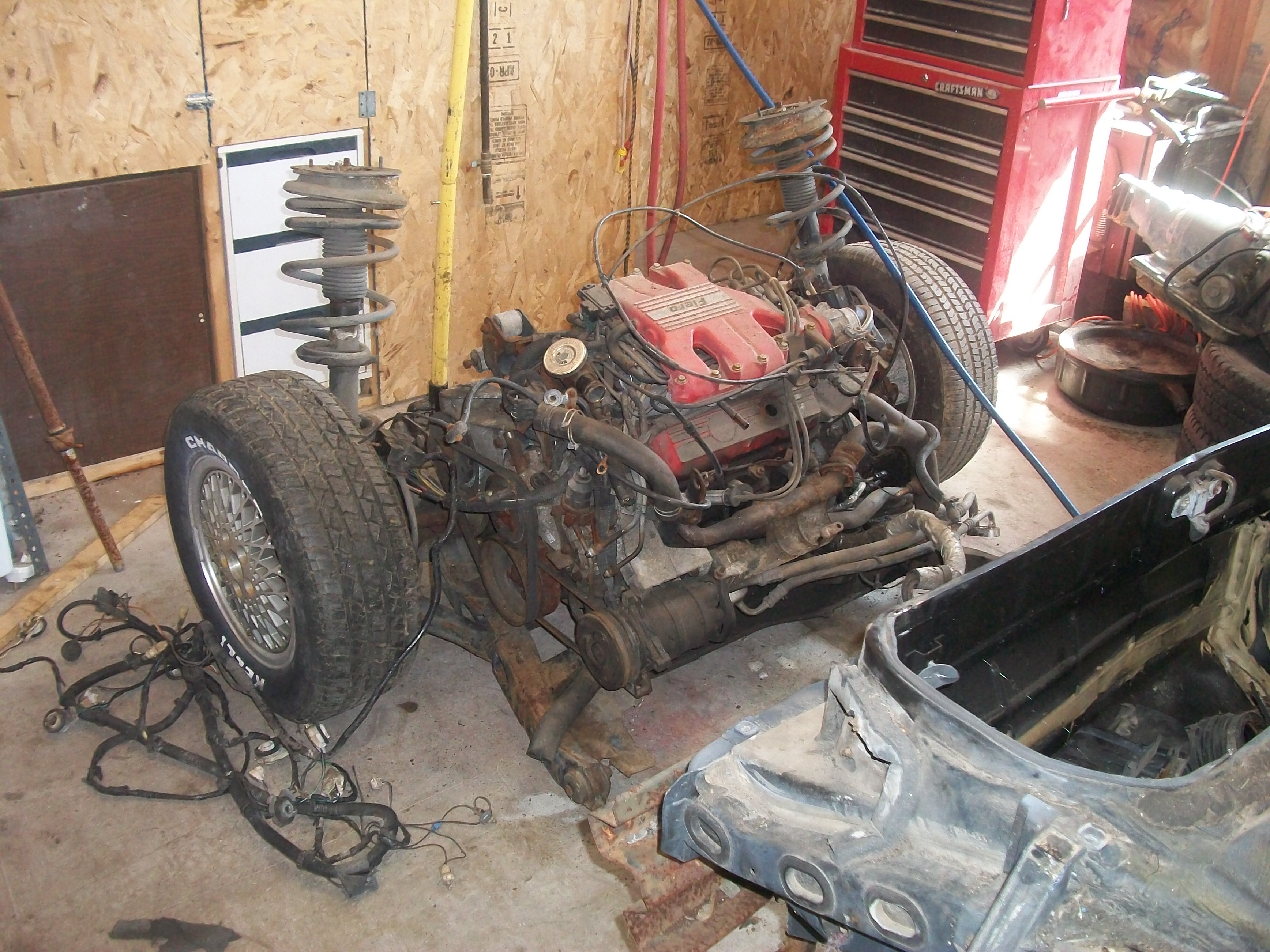 Gtwildfire 1986 Pontiac Fiero Specs Photos Modification Info At Oil Pan 33534730037 Original
