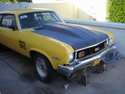yellowjacketnovas 1974 Chevrolet Nova
