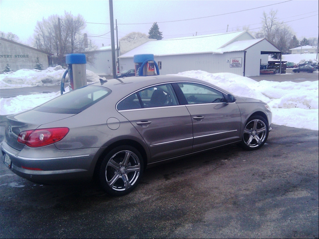 "18"" MB CLS Chrome Rims on"