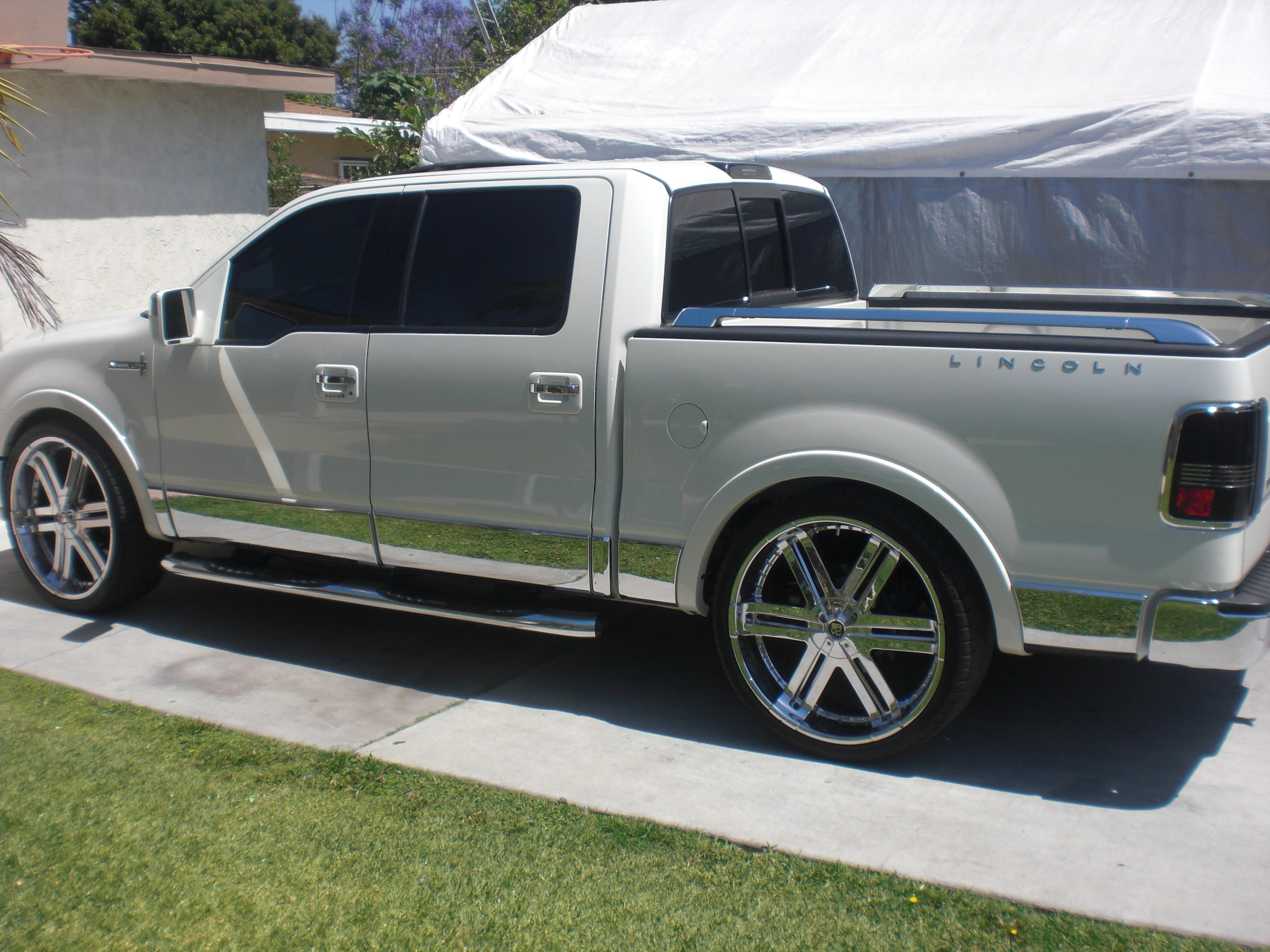 theanaheimangel 2007 lincoln mark lt specs photos. Black Bedroom Furniture Sets. Home Design Ideas