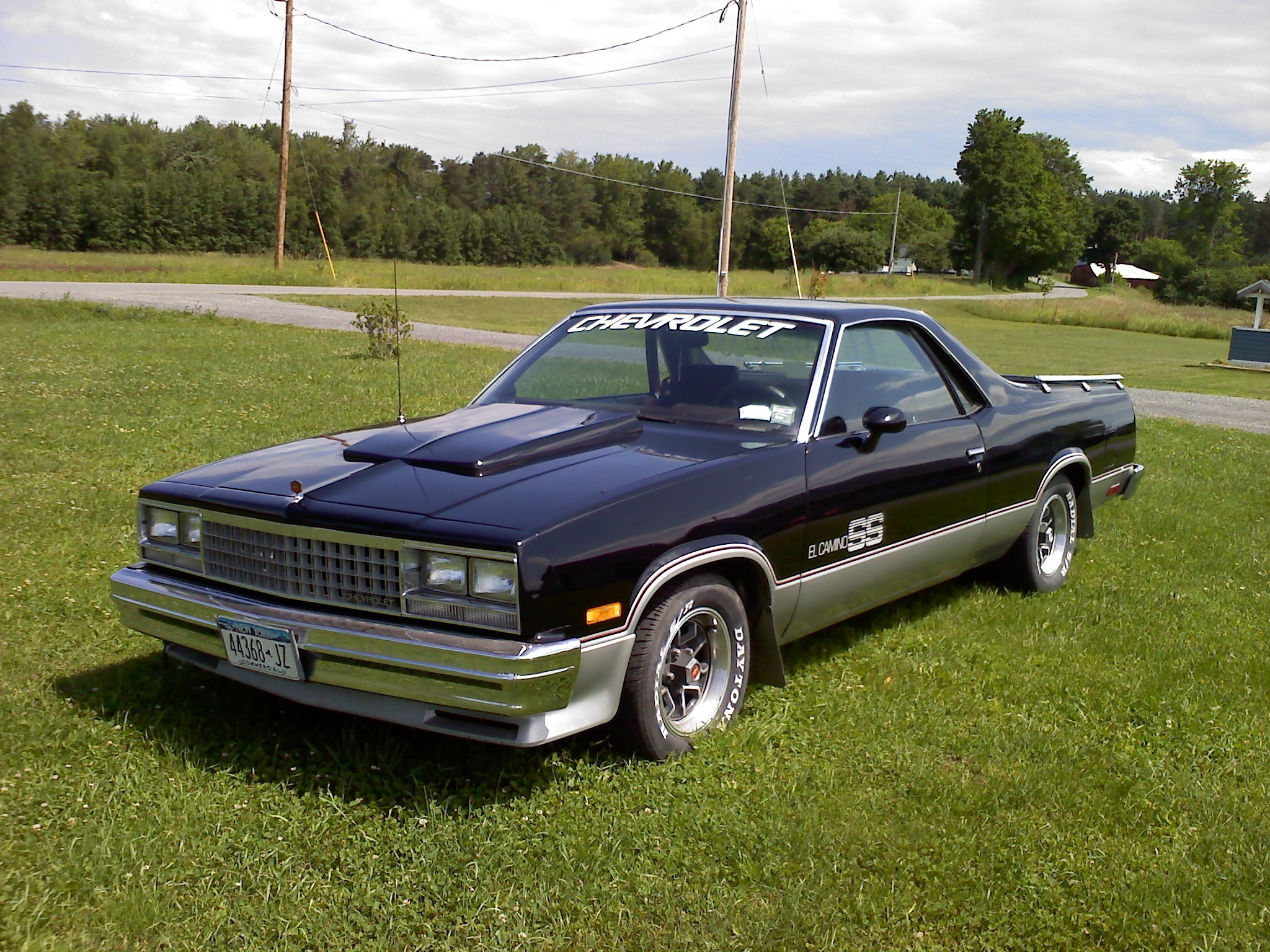 chevyss139 1985 chevrolet el camino specs photos modification info at cardomain. Black Bedroom Furniture Sets. Home Design Ideas
