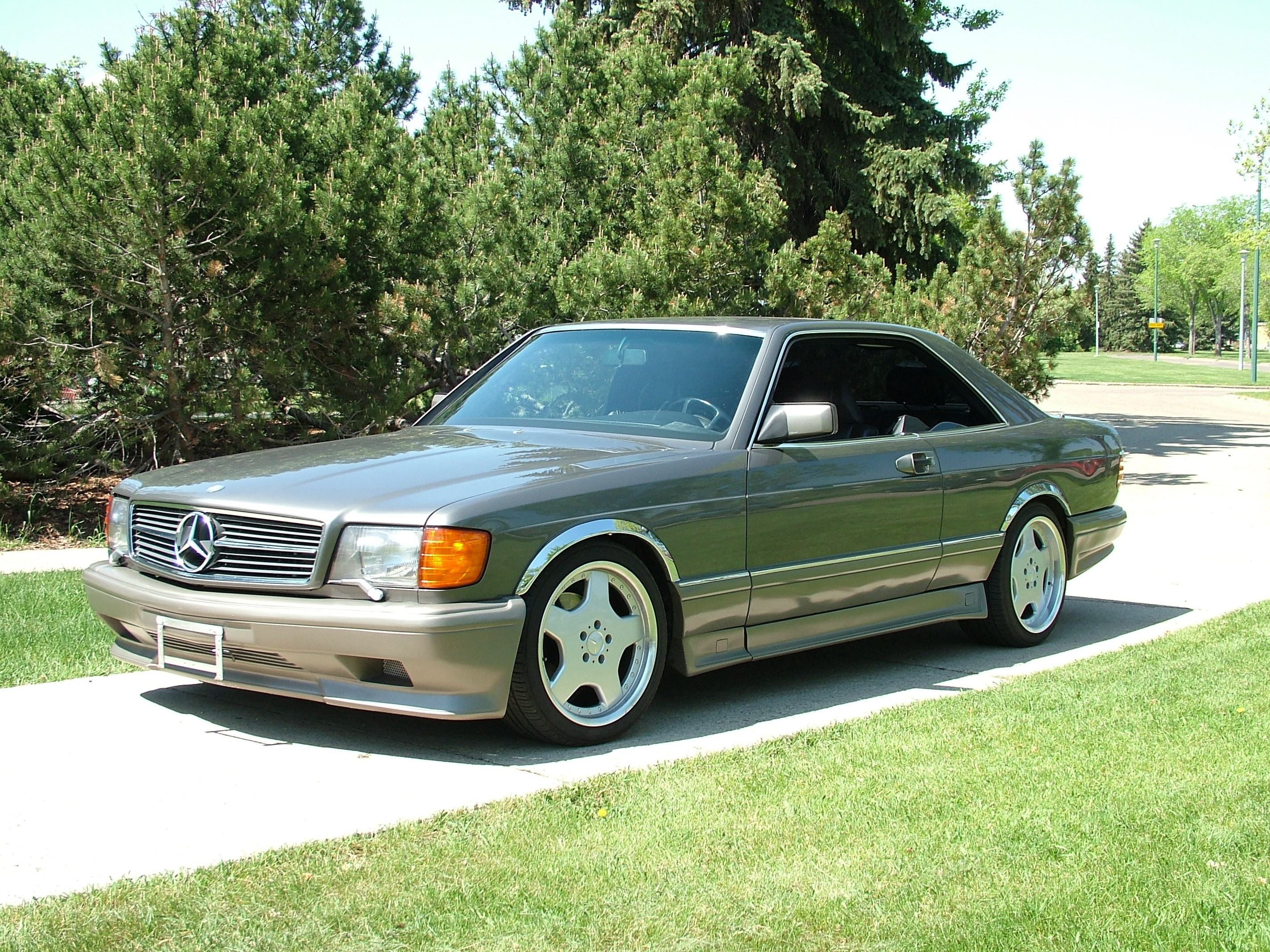Alyehli 1991 mercedes benz 560sec specs photos for Custom mercedes benz for sale