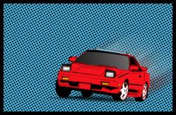 Ironsharks 1986 Toyota MR2