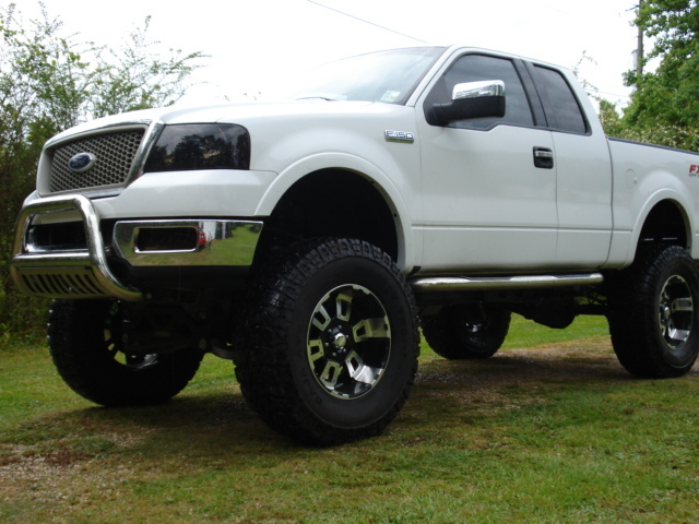 f150dubs 2005 ford f150 super cabfx4 styleside pickup 4d 5 1 2 ft specs photos modification. Black Bedroom Furniture Sets. Home Design Ideas