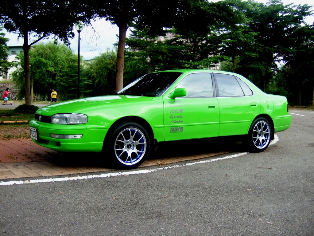 Limegreentrd 1992 Toyota Camry Specs  Photos  Modification Info At Cardomain