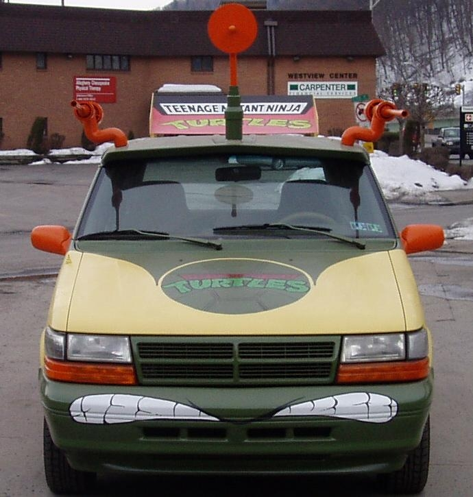The Ninja Turtle Van