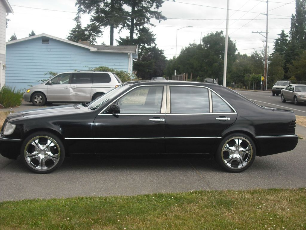 Armand styles 1996 mercedes benz s classs500 sedan 4d for 1996 mercedes benz s500