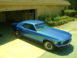 blr1972stingrays 1970 Ford Mustang
