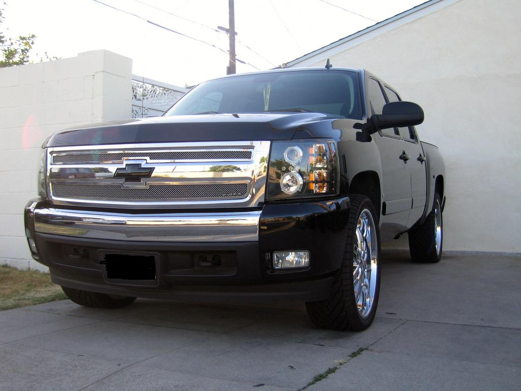 ramm mann 2007 chevrolet silverado 1500 regular cab specs. Black Bedroom Furniture Sets. Home Design Ideas
