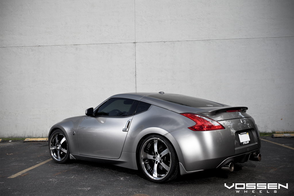 vossen 2010 nissan 370z specs photos modification info. Black Bedroom Furniture Sets. Home Design Ideas
