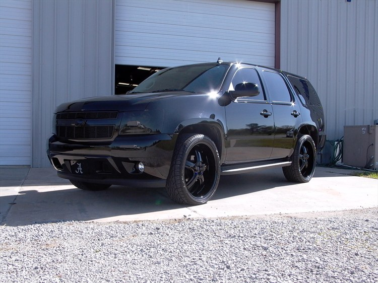 2008 Murdered Out Tahoe On 24 S Performancetrucks Net Forums