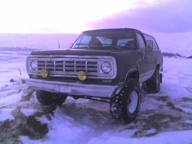 Another northernmercury 1976 Dodge Ramcharger post... - 13350272