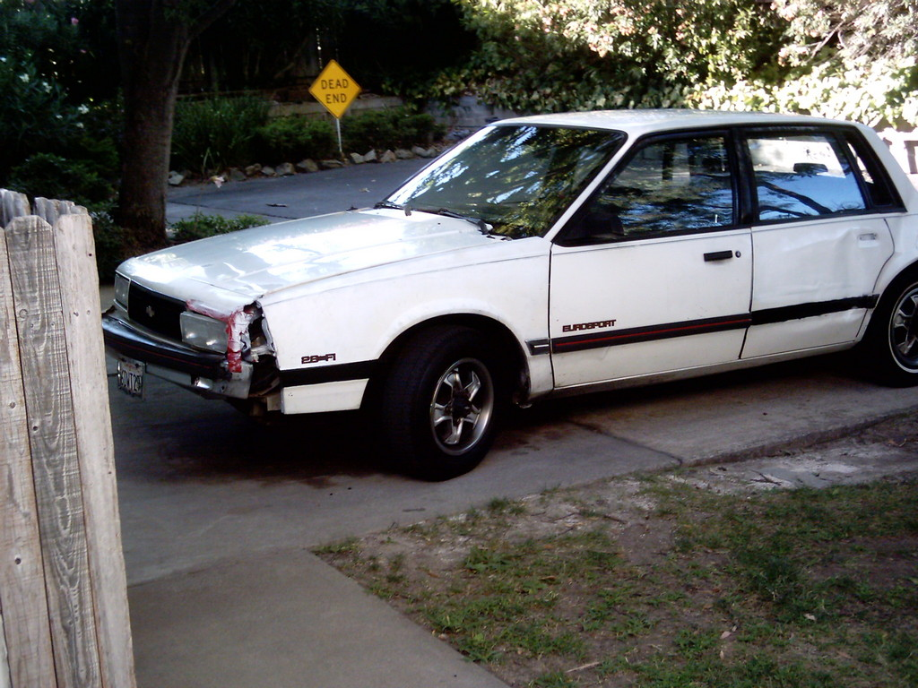 1988 Chevy Celebrity Eurosport VR ('87 Clone) Photo ...