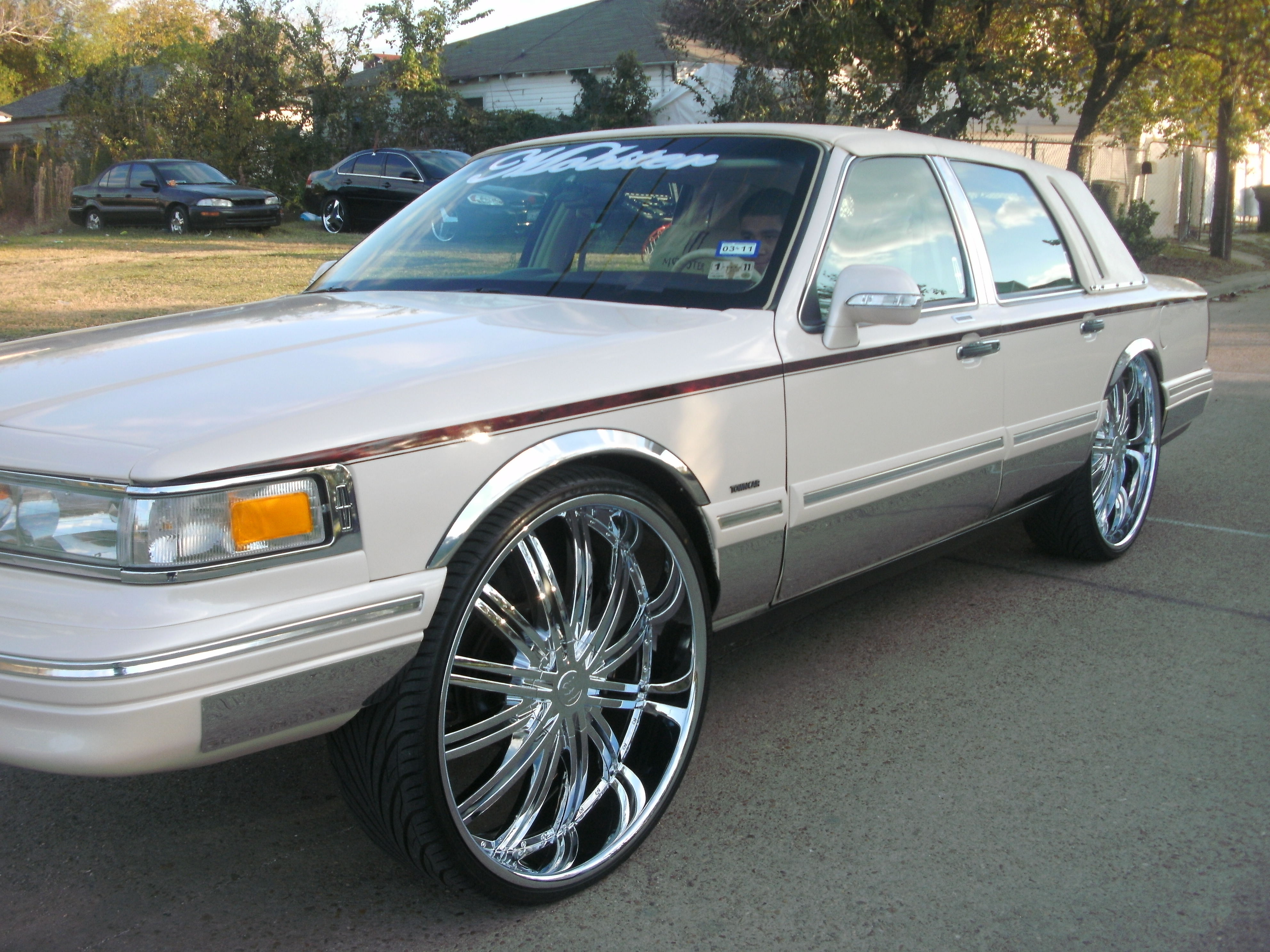 mobster26 1996 Lincoln Town Car