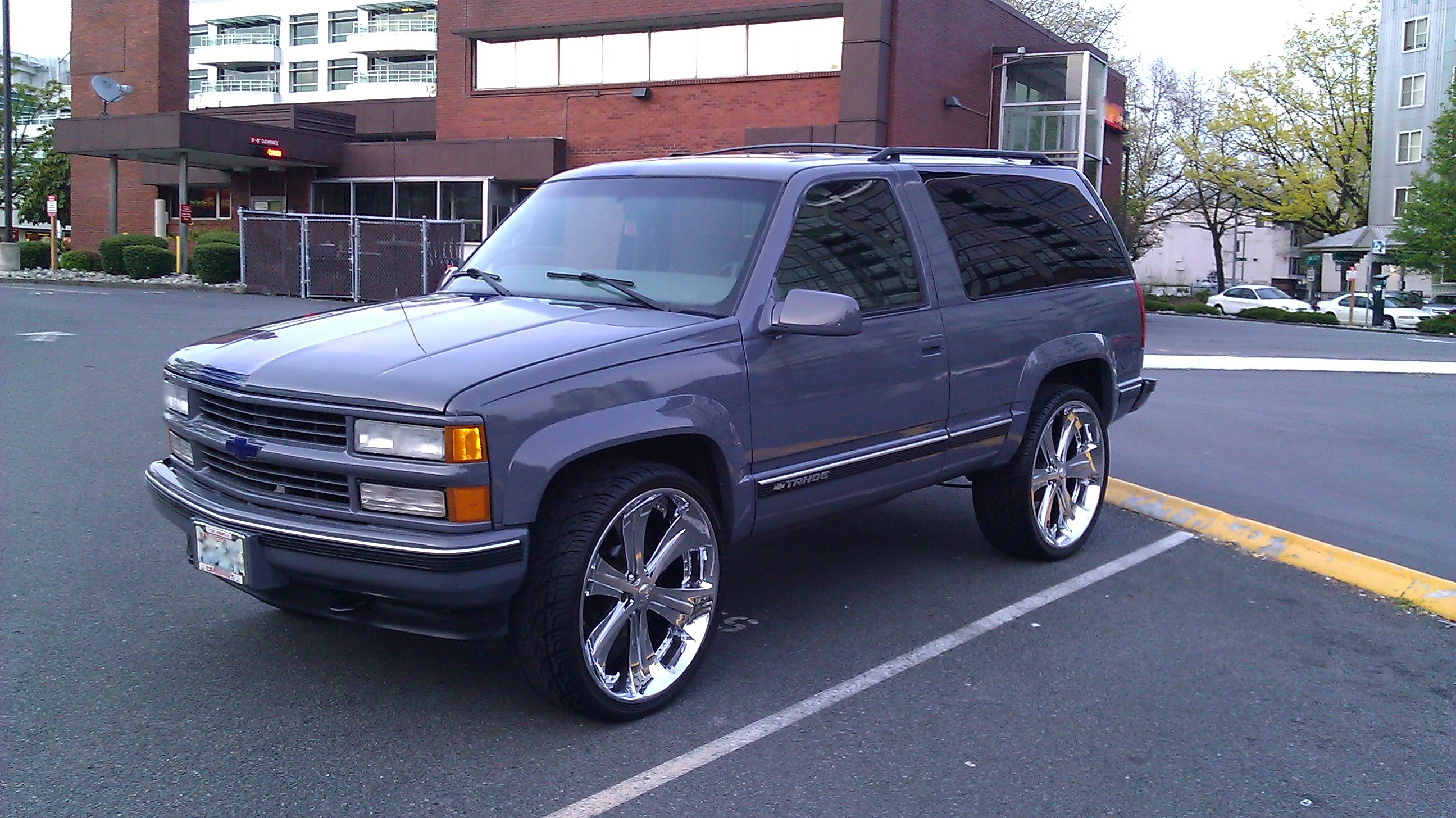 Lamarr1ftc S 1999 Chevrolet Tahoe In Washington Wa