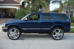 dubduce24ss 1999 Chevrolet Blazer